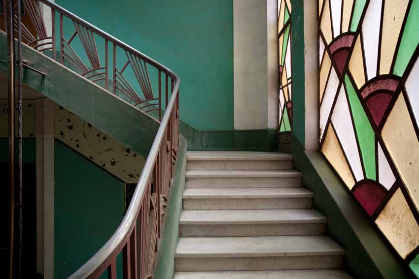 21.	 Staircase of Kluvich House, Port Said, 2010