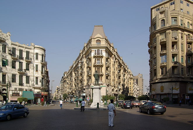 The Baehler Buildings on Talaat Harb Square now occupy the site of the former Savoy