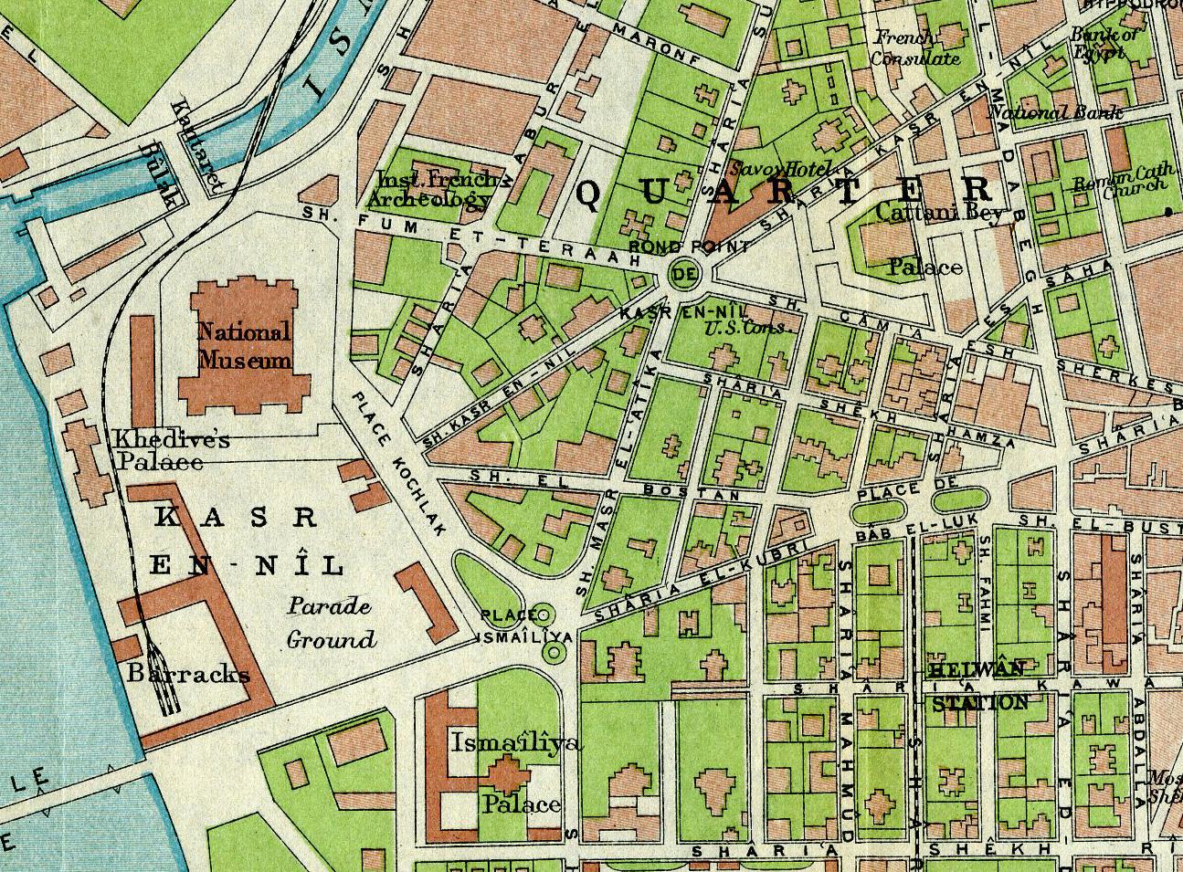Hotel du Nil 01 map