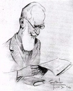 George Bernard Shaw by Tony Binder