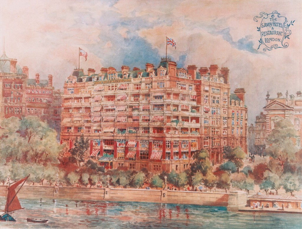 The River Front circa 1904,  by artist Harold Oakley