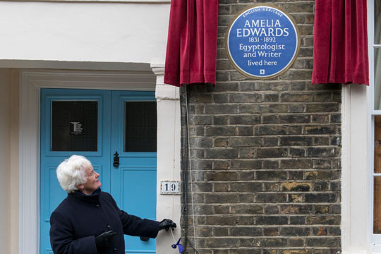 amelia-edward-blue-plaque-unveiling