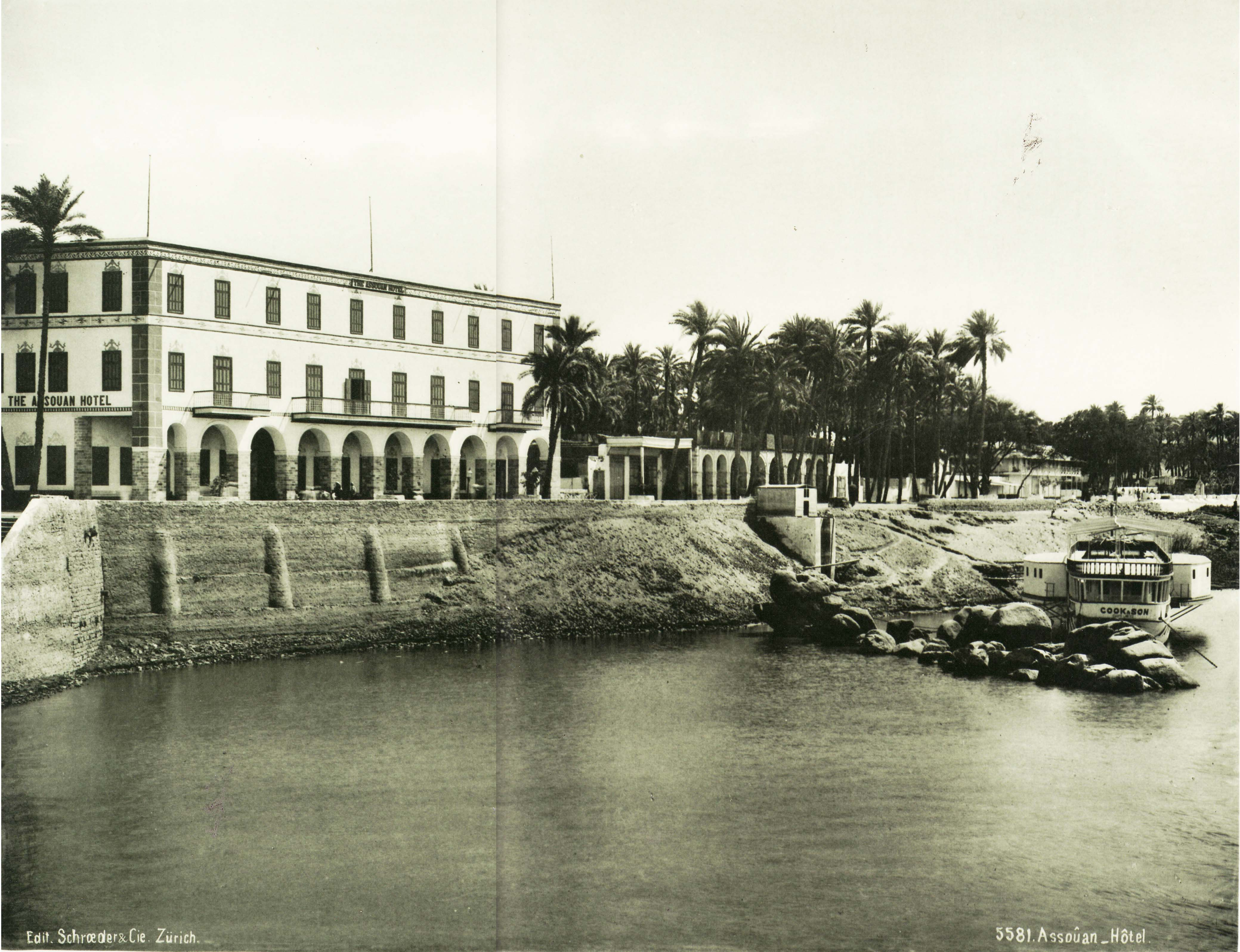 Grand Hotel Aswan Egypt In The Golden Age Of Travel