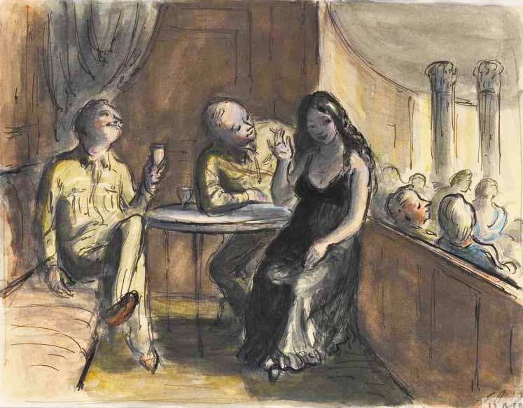 Doll's Cabaret: the Girl in Black