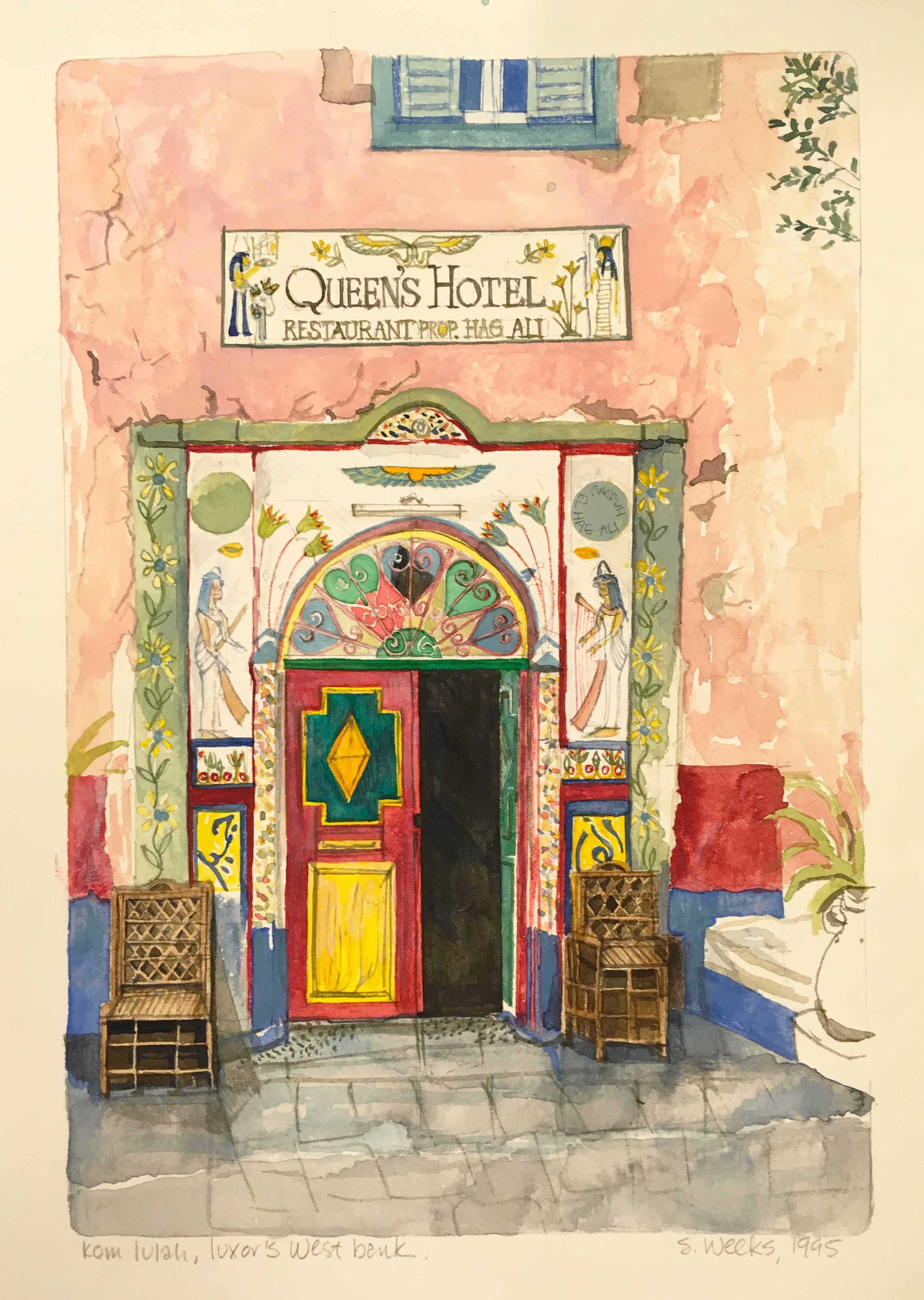 Winter Palace Egypt In The Golden Age Of Travel Pensil Alis Shopie Paris Poking Around Archives American University Cairo Other Week I Came Across A Box Labeled Susan Weeks